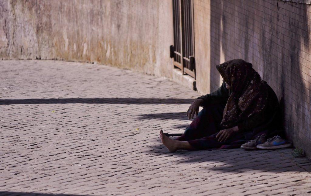 bancarrota indigente pobreza