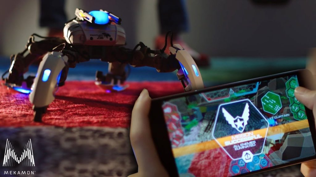 Mekamon apple robot dron