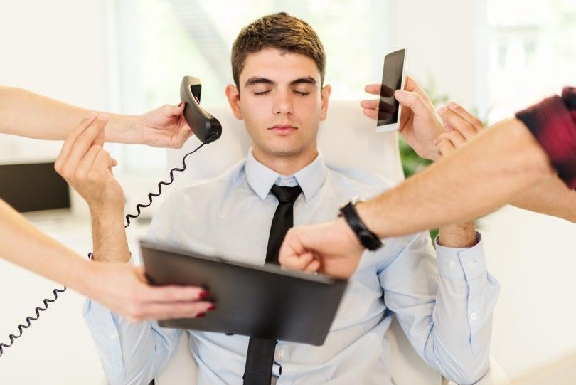 Estrés empresario