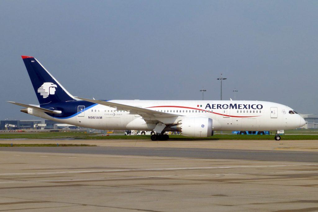 Aeroméxico barcelona 787