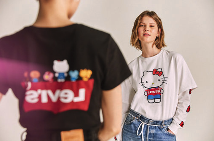 Hello Kitty Levi's