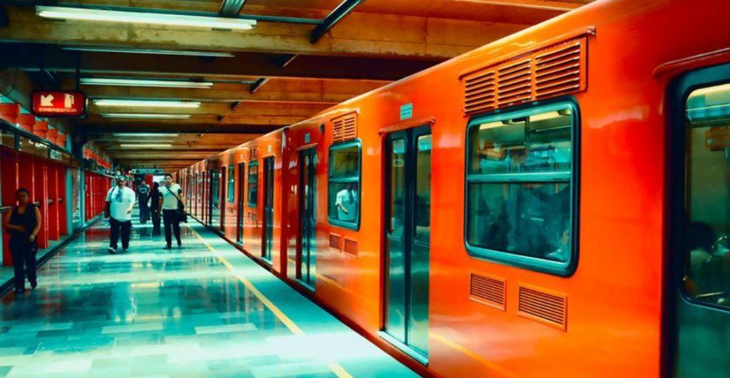van a estaciones del metro cdmx
