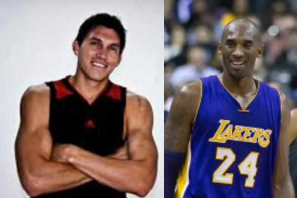 Eduardo Nájera Kobe Bryant