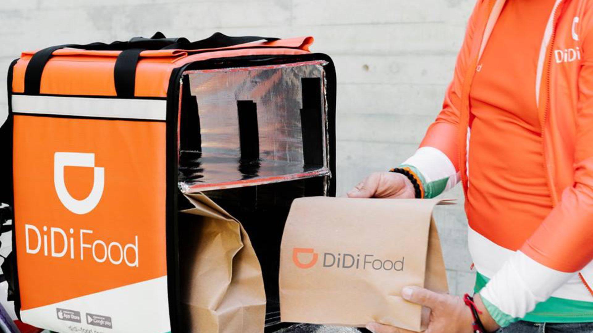 Didi Food descuento por el hot sale