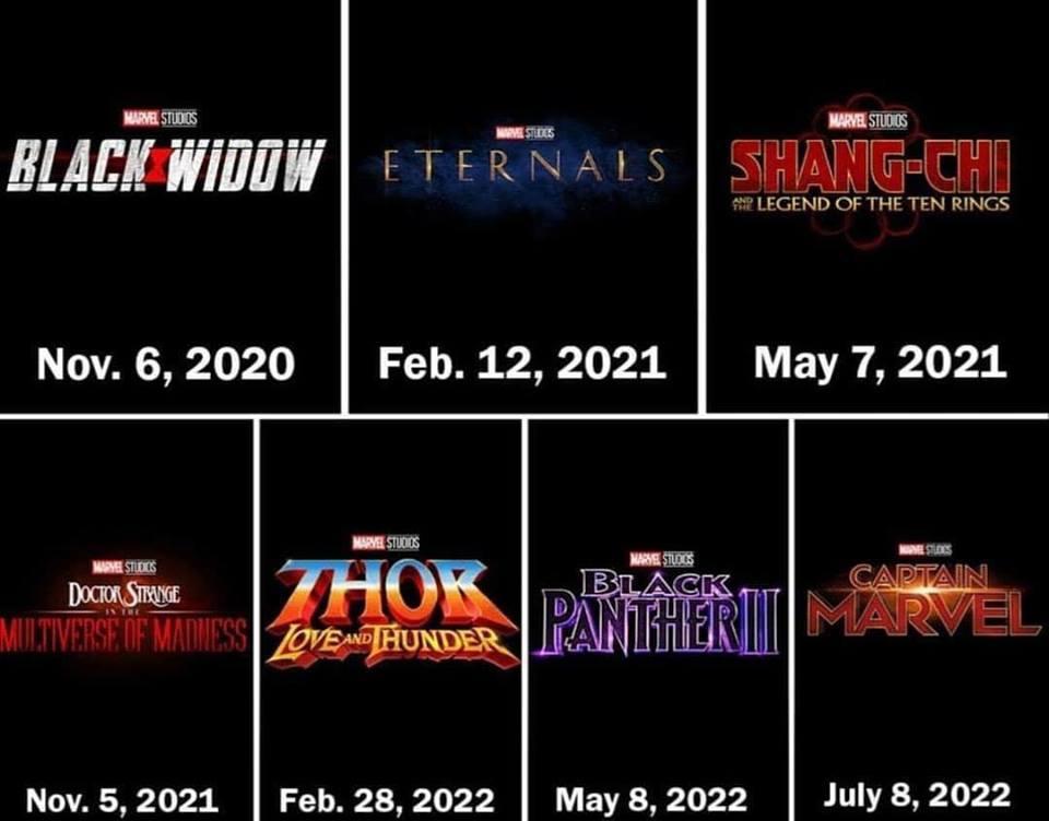 las nuevas fechas
