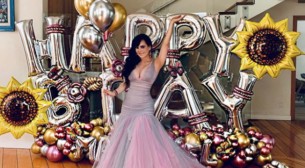 maribel guardia celebró