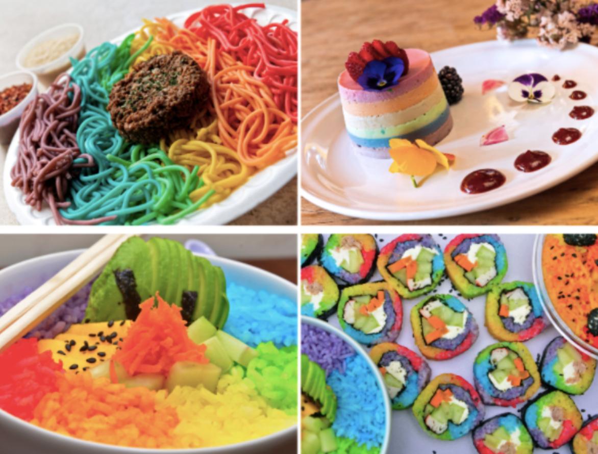 Didi Food Platillos arcoiris pride lgbt