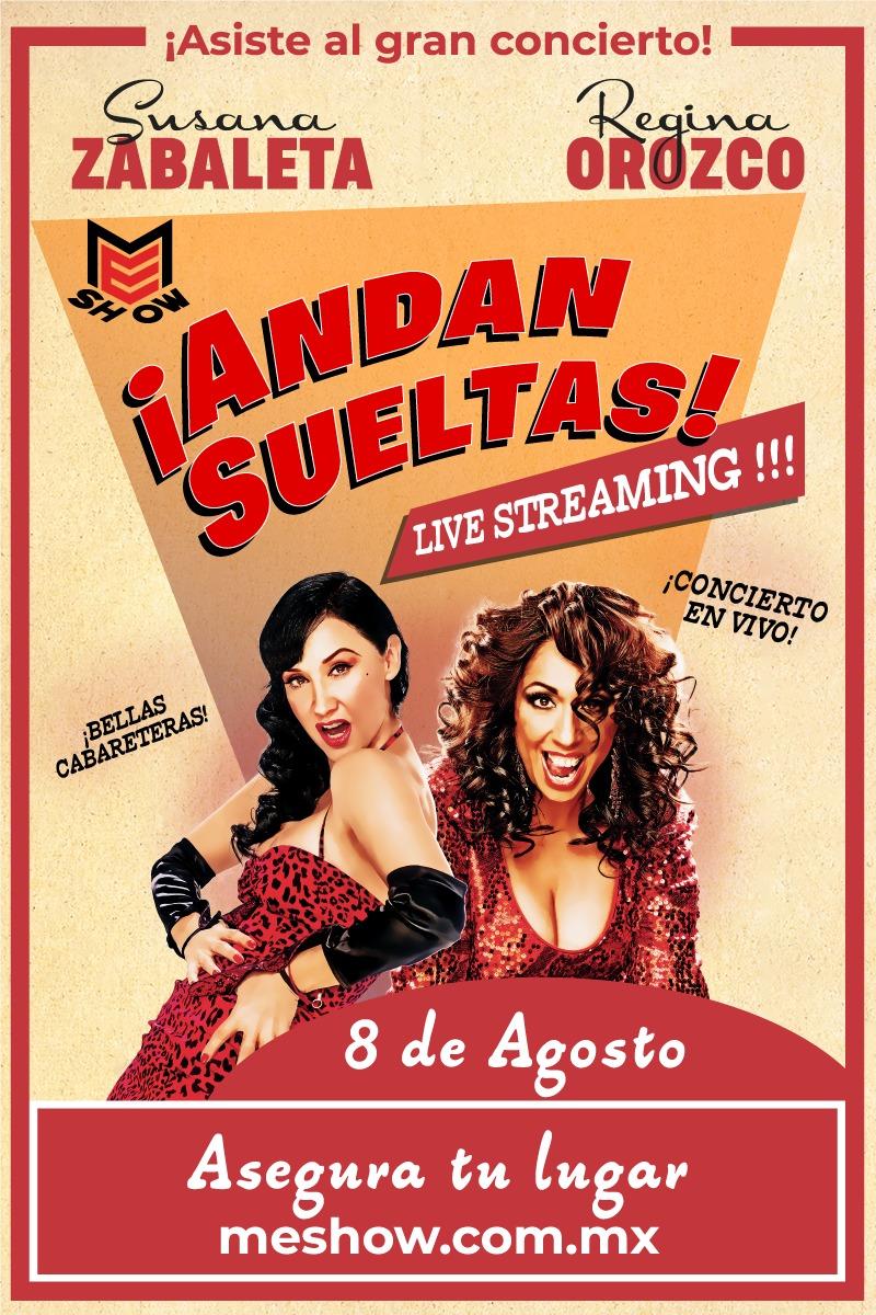 Susana Zabaleta y Regina Orozco