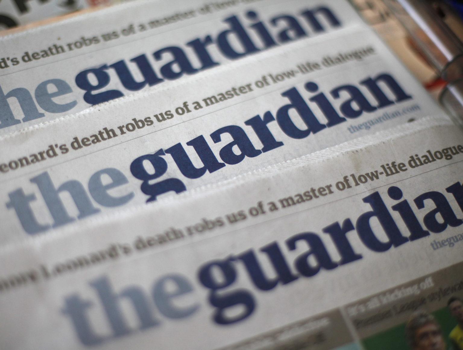 The Guardian La lista