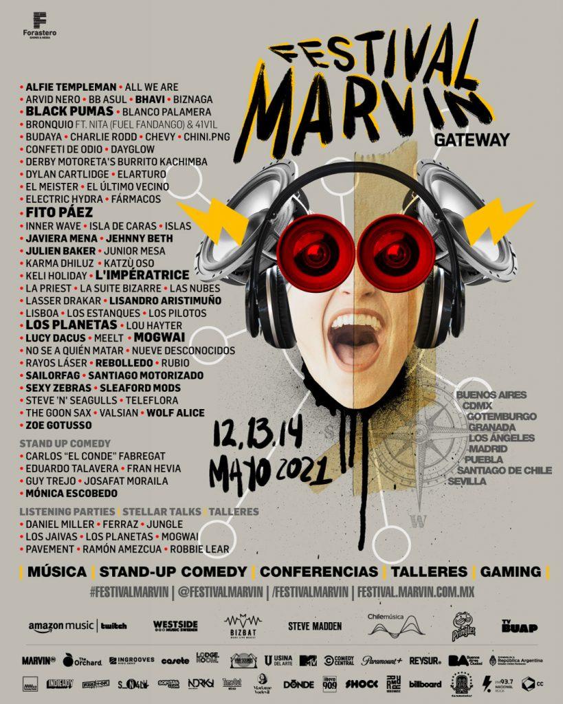 #FestivalMarvin
